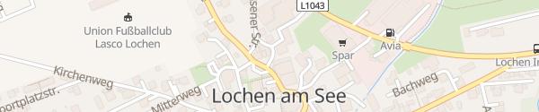 Karte Energie AG Ladesäule Lochen