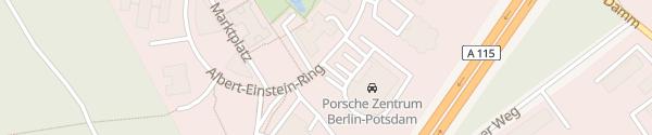 Karte Porsche Zentrum Berlin-Potsdam Kleinmachnow