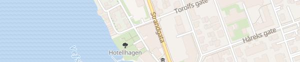 Karte Fru Haugans Hotel Mosjøen