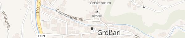 Karte Gemeindeamt Großarl