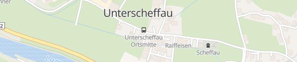 Karte Scheffau Scheffau am Tennengebirge