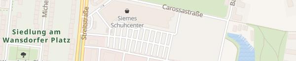 Karte EDEKA Center Berlin Berlin