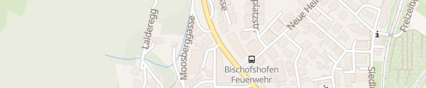 Karte VW Autohaus Vierthaler Bischofshofen