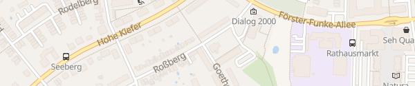 Karte August-Bebel-Platz Kleinmachnow