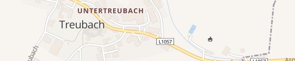 Karte Gemeindeamt Treubach