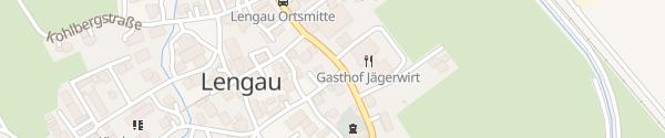 Karte Gemeinde Lengau