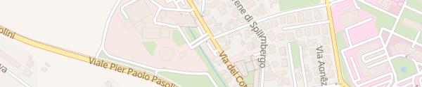 Karte Via Del Cotonificio Udine