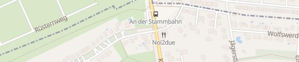 Karte An der Stammbahn Kleinmachnow