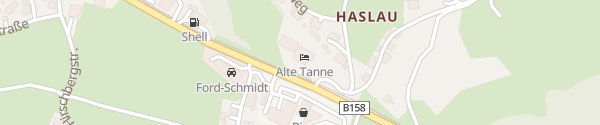 Karte Gasthof Alte Tanne Hof bei Salzburg
