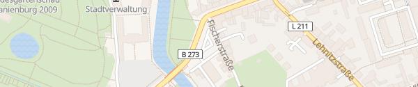 Karte Fischerplatz Oranienburg
