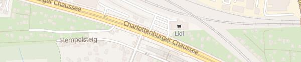 Karte Lidl Charlottenburger Chaussee Berlin