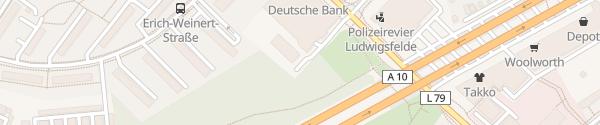 Karte Telekom Ludwigsfelde