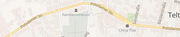 Karte Weinbergsweg Teltow