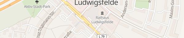 Karte Stadtverwaltung Ludwigsfelde