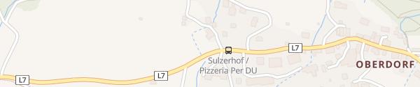 Karte Ferienanlage Morgenfurt Weissensee
