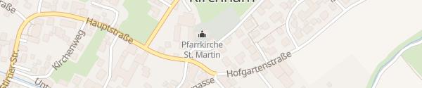 Karte E-Bike Ladesäule Rathaus Kirchham