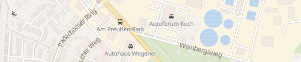 Karte Koch Automobile Ludwigsfelde