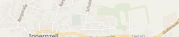 Karte Parkplatz Schule Innernzell
