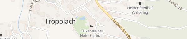 Karte Falkensteiner Hotel Carinzia Hermagor