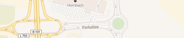 Karte Hornbach Ludwigsfelde
