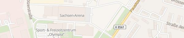 Karte Sportzentrum Riesa