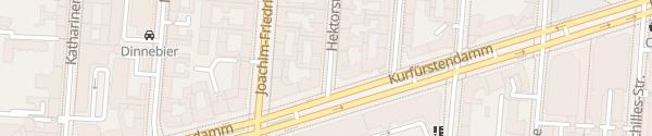 Karte Hektorstraße Berlin
