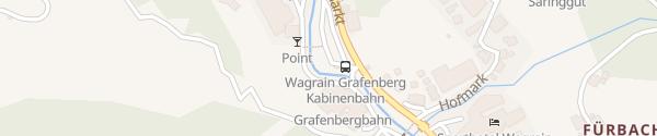 Karte Talstation Grafenberg Express Wagrain