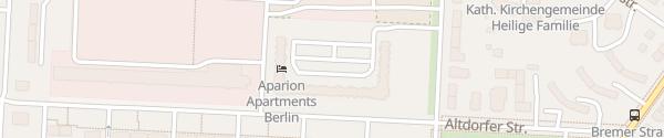 Karte Theklastraße Berlin