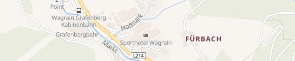 Karte Sporthotel Wagrain Wagrain