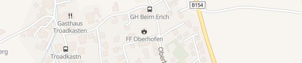 Karte Gemeindeamt Oberhofen am Irrsee