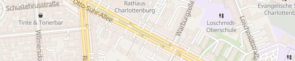 Karte Otto-Suhr-Allee Berlin