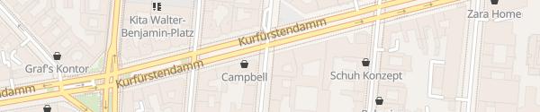 Karte Schlüterstraße Berlin