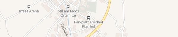 Karte Kirche Zell am Moos