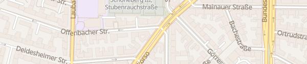 Karte Südwestkorso Berlin