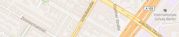 Karte Hubertusstraße Berlin