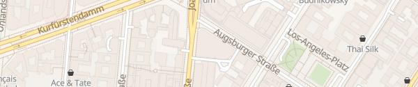 Karte Hotel Sofitel Kurfürstendamm Berlin