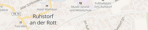 Karte E-Wald Ladesäule Ruhstorf a. d. Rott