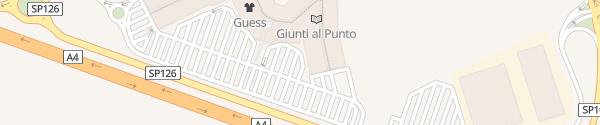 Karte Palmanova Outlet Village Joannis