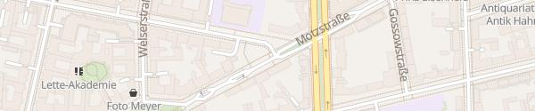 Karte Motzstraße Berlin