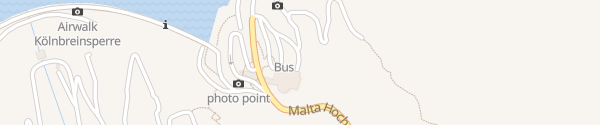 Karte Berghotel Malta