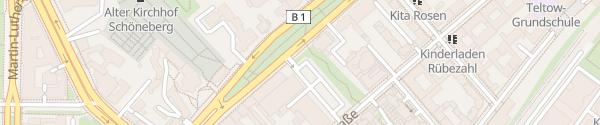 Karte Lidl Berlin-Schöneberg Berlin