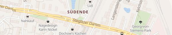 Karte Lidl Steglitz Berlin