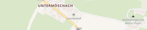 Karte Hotel Schloss Lerchenhof Untermöschach