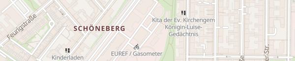 Karte ebee Laterne EUREF InnoZ Berlin