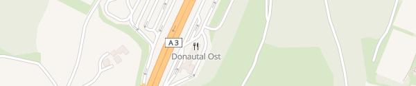 Karte IONITY Donautal Ost Passau