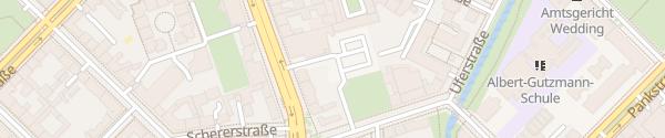 Karte Lidl Reinickendorfer Straße Berlin