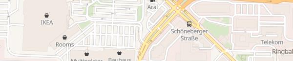 Karte Parkplatz McDonalds Berlin