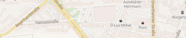 Karte Kaufland Residenzstraße Berlin