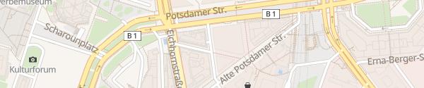 Karte Parkhaus Potsdamer Platz Berlin