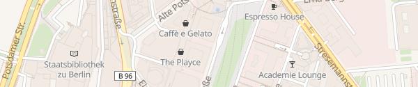 Karte Potsdamer Platz Arkaden Berlin